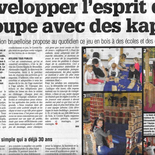Centre kapla article La Capitale